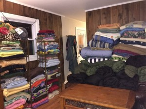 126 Blankets and Counting! (photo credit: Aubrey McCarrick)